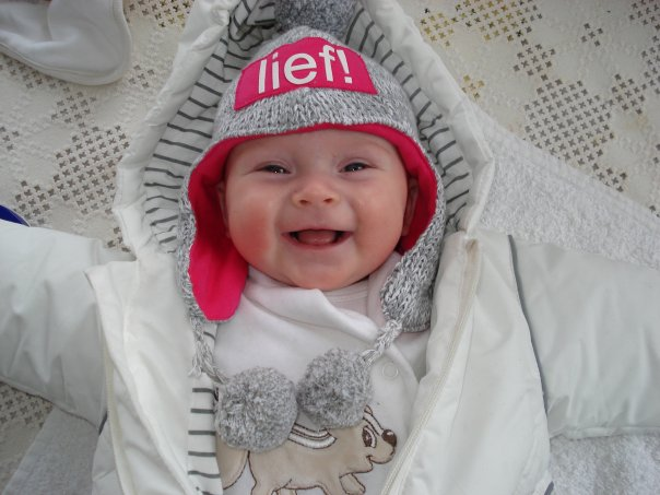 Lily-Louise at 3 Months