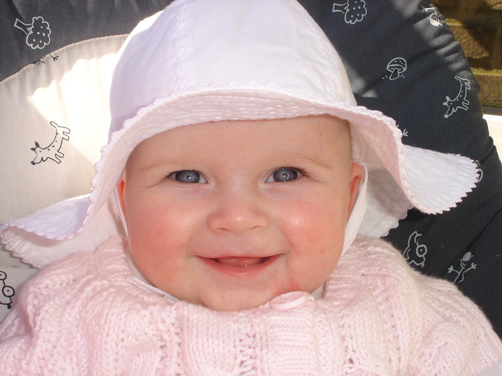 Lily-Louise at 6 Months