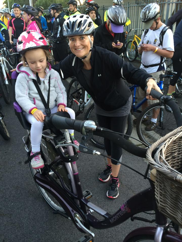 Lily and I at the Cape Town Freedom Ride