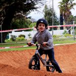 The pump track was fun for bike fans of all ages